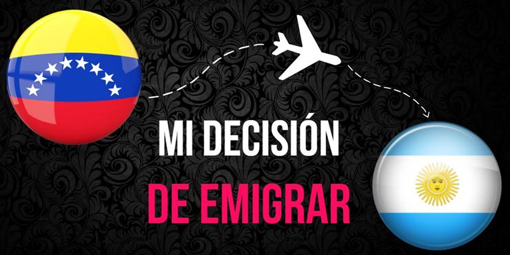 Emigrar de Venezuela a Argentina