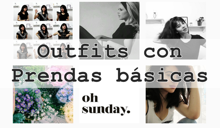 Prendas básicas para diferentes estilos a la moda
