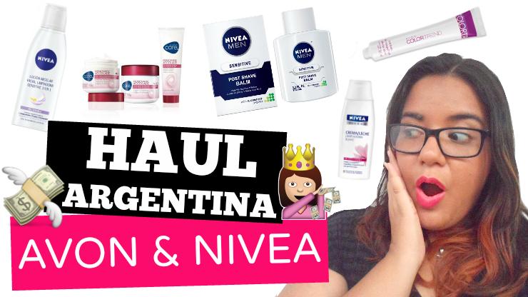Haul de Avon y Nivea (Argentina)