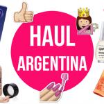 Haul de compras en Argentina
