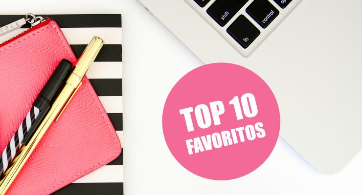 TOP 10 Favoritos de septiembre 2016
