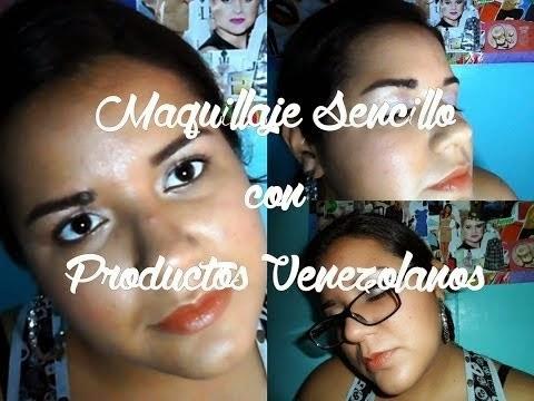 Maquillaje sencillo con productos venezolanos