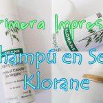 Reseña: Champú en seco Klorane