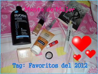 Mis favoritos del 2012