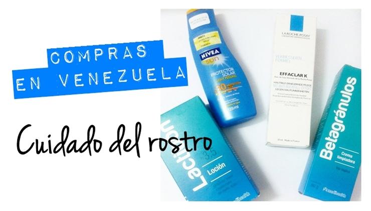 Productos para el cuidado del rostro de piel grasa (Venezuela)