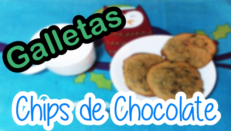 Galletas con chispas de chocolate tipo Subway