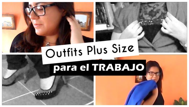 3 Outfits plus size cómodos para ir a trabajar