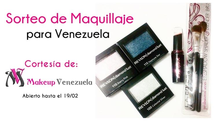 Sorteo de maquillaje para Venezuela