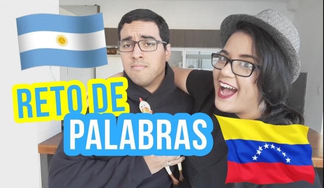 Reto de palabras | Argentina vs Venezuela