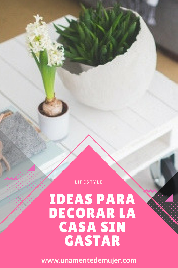 Ideas para decorar la casa sin gastar una mente de mujer for Ideas para decorar la casa