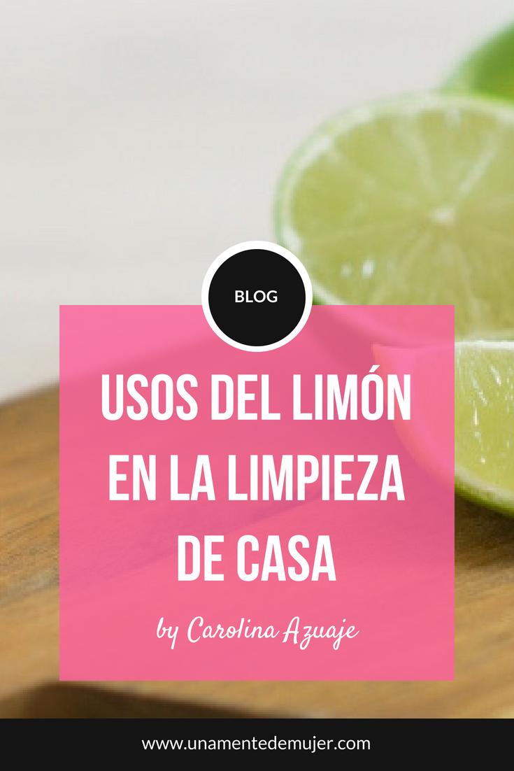 Usos del limón en la limpieza