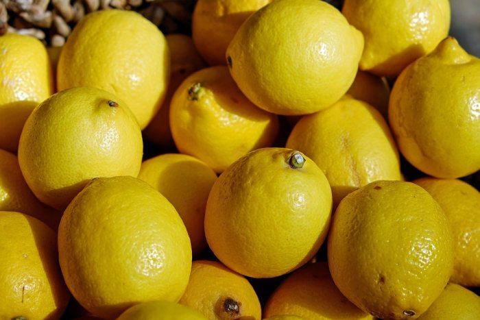 scarilla de miel y limón