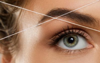 Depilación con hilo, contra la flacidez de tu rostro